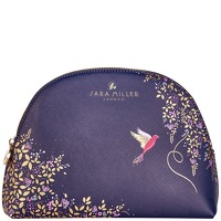 SARA MILLER Accessories Medium Cosmetic Bag Navy