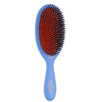 Mason Pearson Boar Bristle and Nylon Medium Junior Brush Blue
