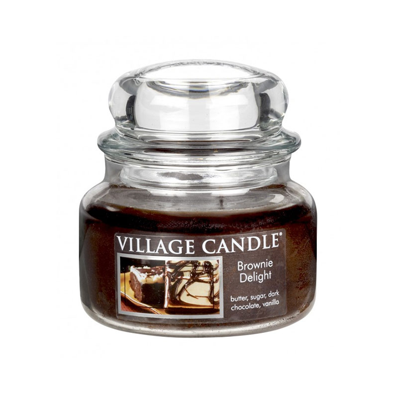 Village Candle Brownie Delight Jar 11oz