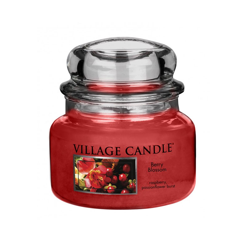 Village Candle Berry Blossom Jar 11oz