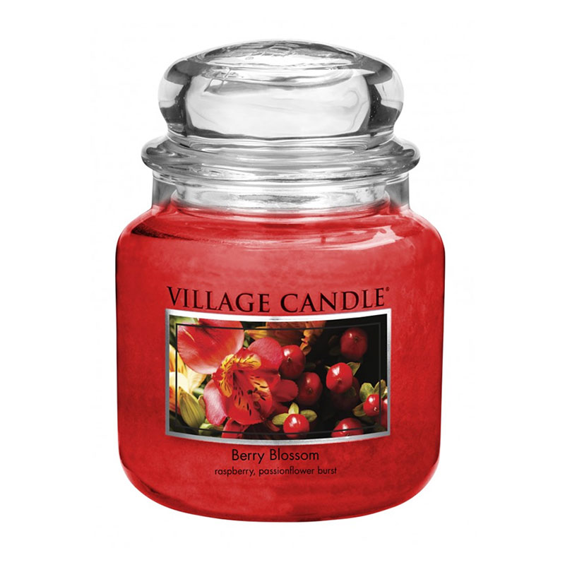 Village Candle Berry Blossom Jar 453g