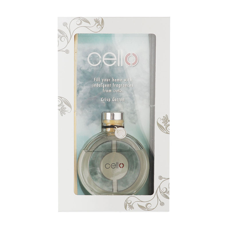 Cello Fragrance Burst Crisp Cotton Diffuser