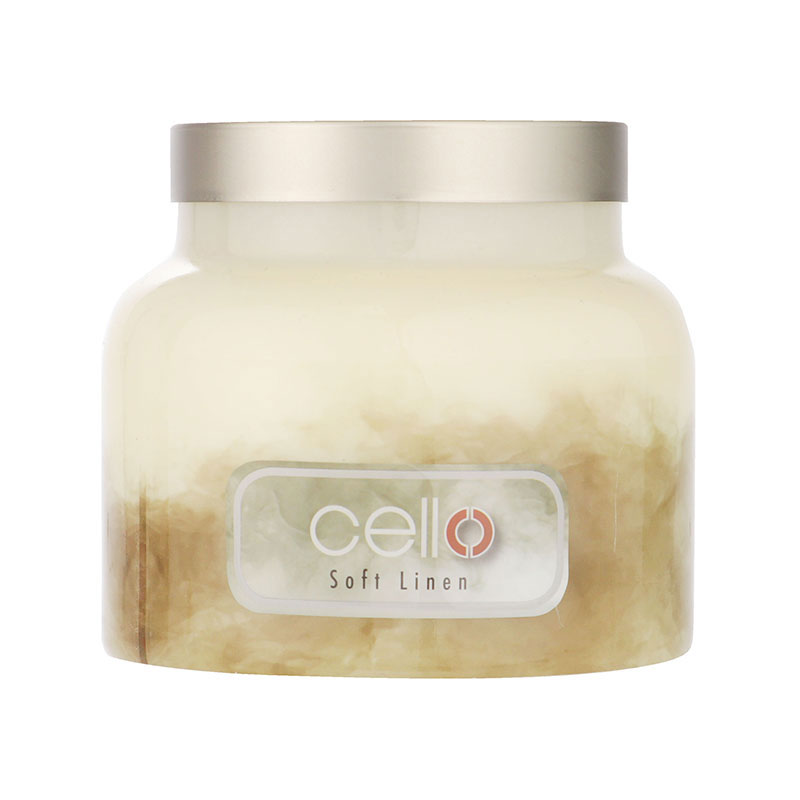 Cello Fragrance Burst Soft Linen Candle Medium