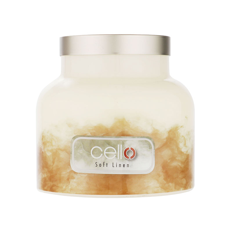 Cello Fragrance Burst Soft Linen Candle Large 680g