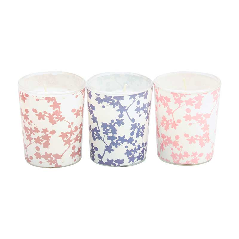 Candlelight Japanese Blossom Scented Candle Set