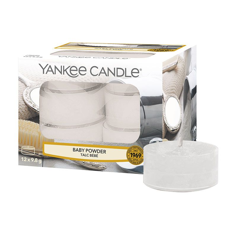 Yankee Candle Baby Powder Tea Lights