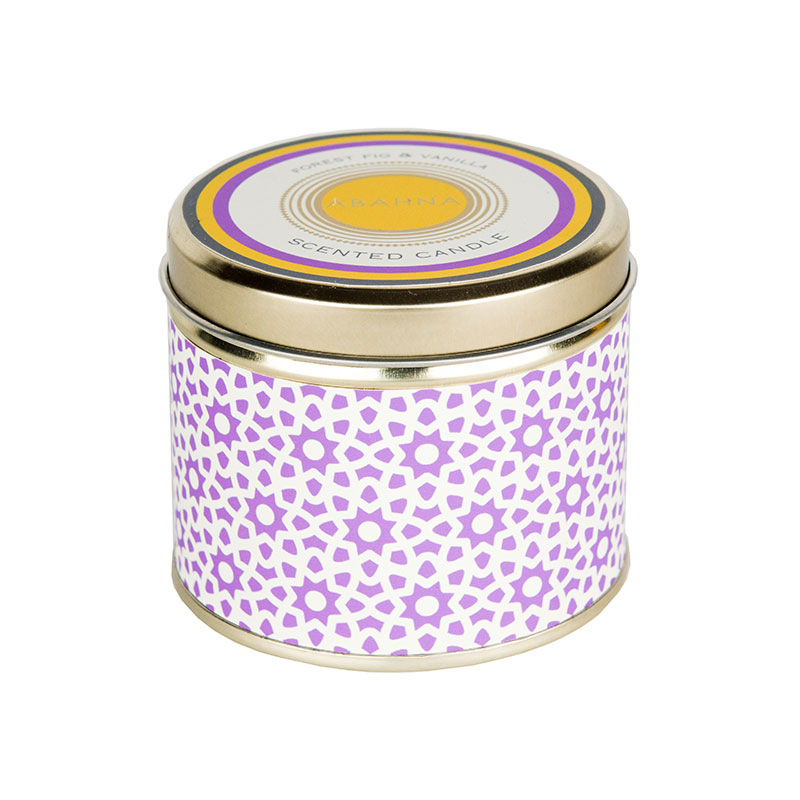 Abahna Forest Fig & Vanilla Tin Candle 160g