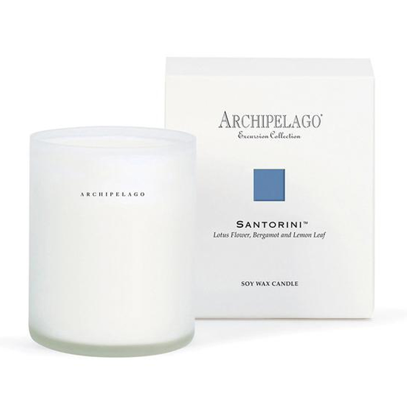 Archipelago Botanicals Excursions Collection Candles Santori