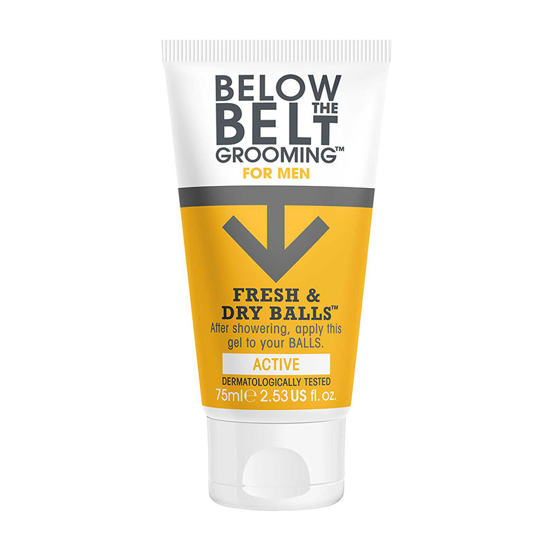 Below The Belt Grooming Fresh & Dry Balls Active