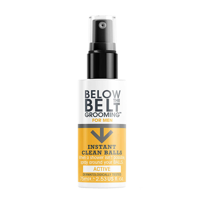 Below The Belt Grooming Below The Belt Instant Clean Balls Active