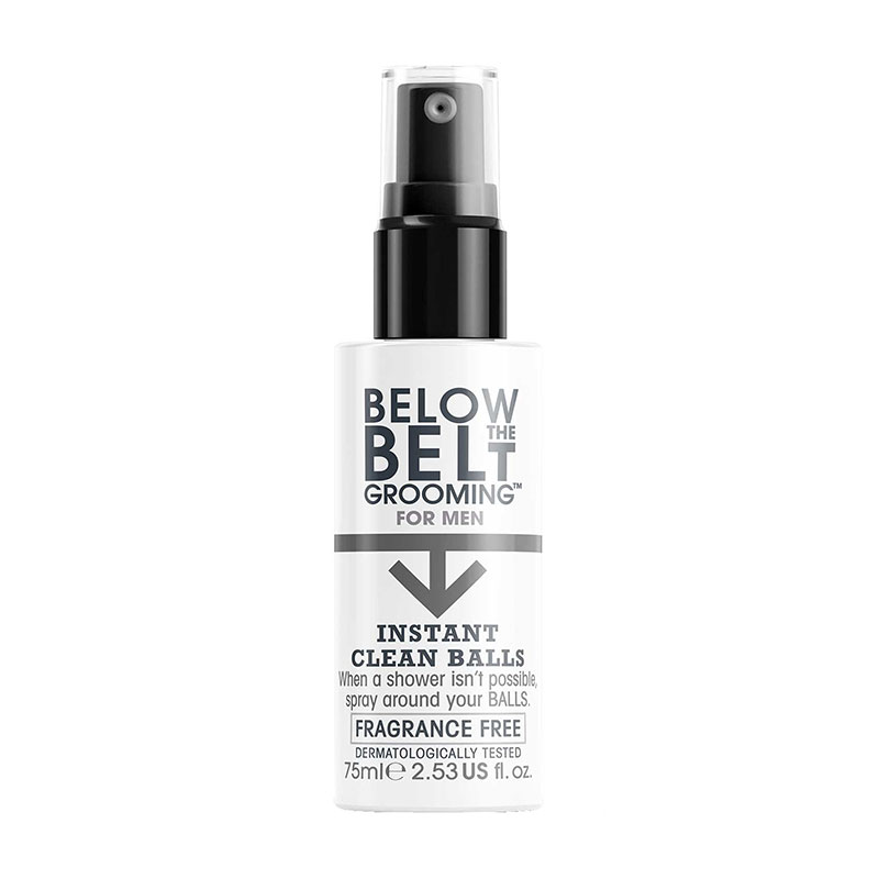 Below The Belt Grooming Below The Belt Instant Clean Balls Fragrance Free