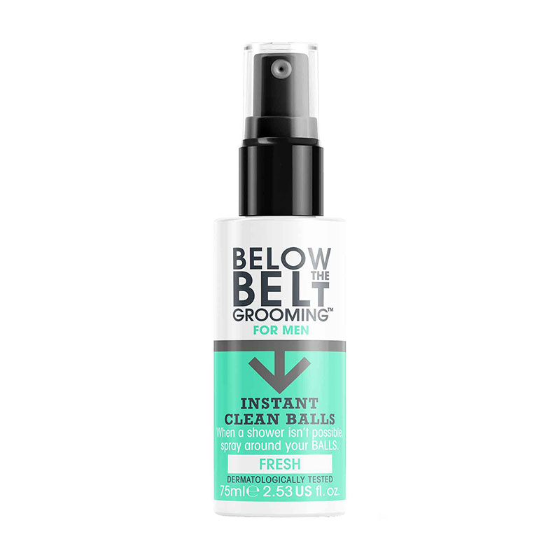Below The Belt Grooming Below The Belt Instant Clean Balls Fresh