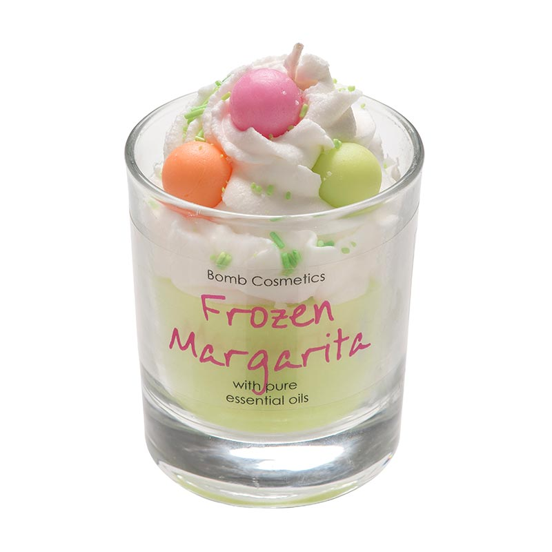Bomb Cosmetics Bomb Frozen Margarita Piped Candle 120g