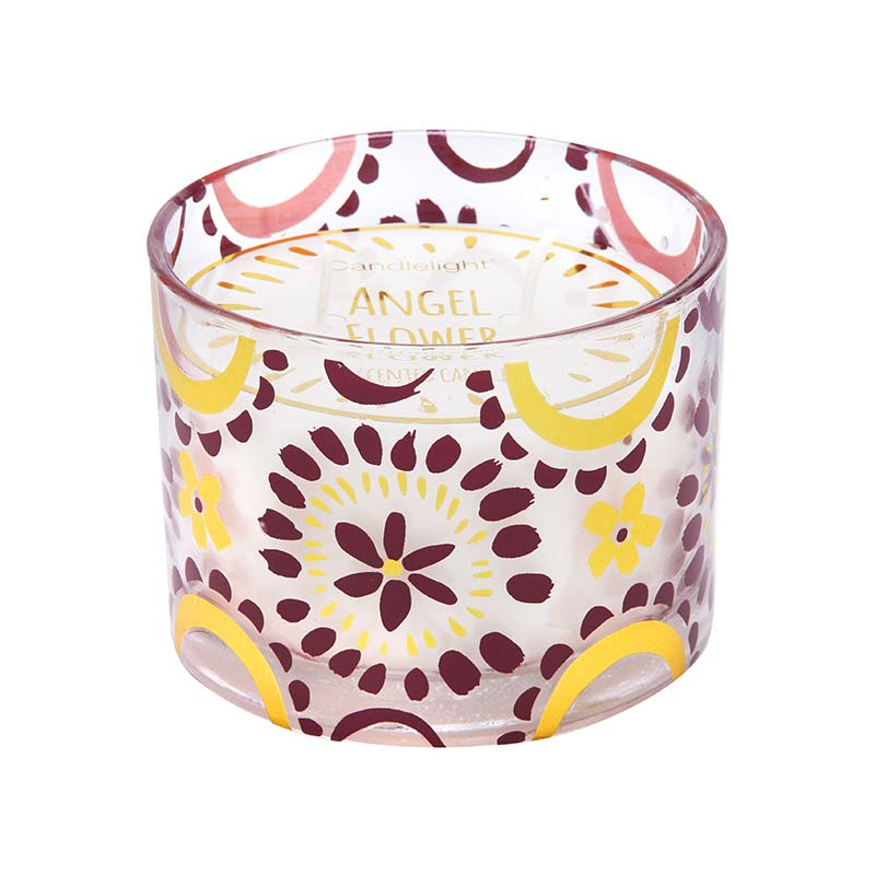Fragrance Candlelight Bohemian Plum Wax Filled Pot Candle 250g