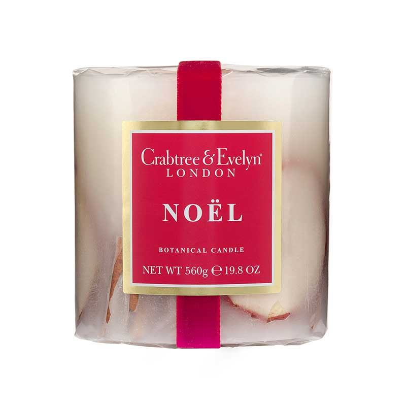Crabtree and Evelyn Crabtree & Evelyn Botanical Candle Noel 560g