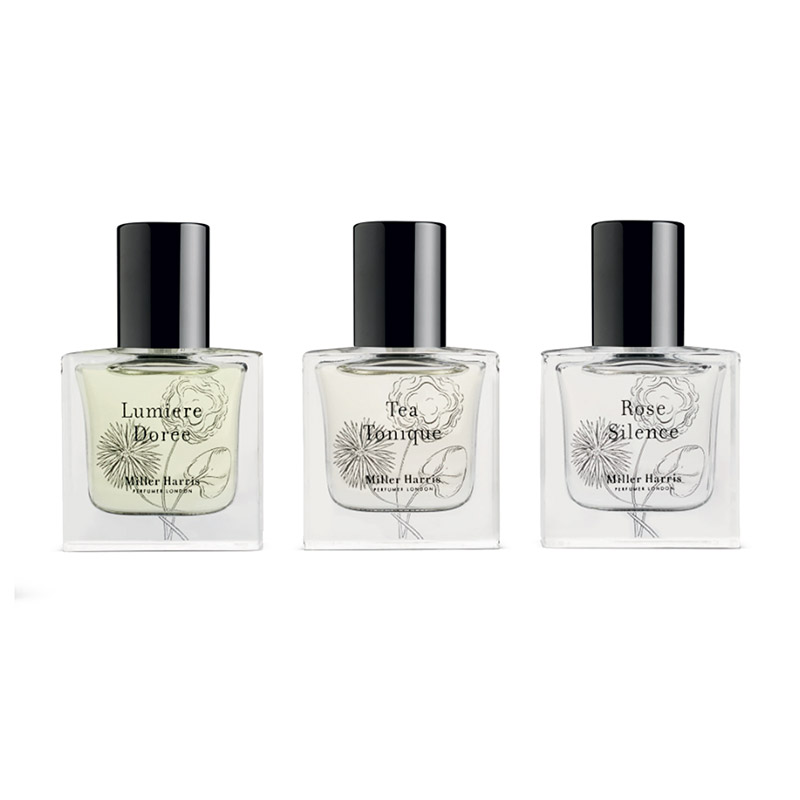 Miller Harris La Collection Voyage 3 x