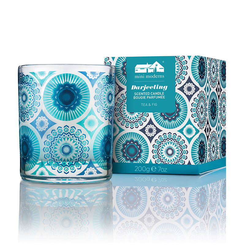 Mini Moderns Home Candles 200g Darjeeling