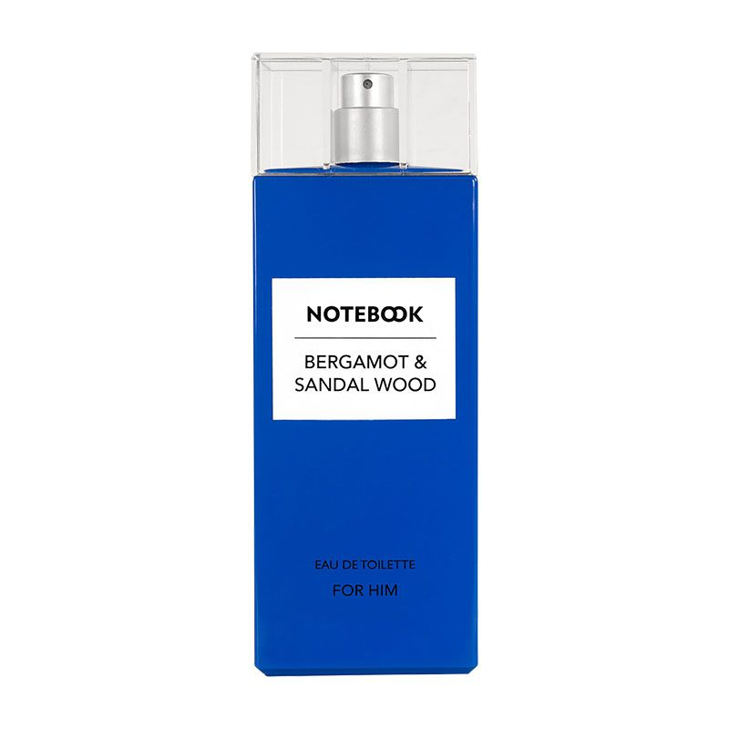 Notebook Bergamot & Sandalwood Eau de Toilette