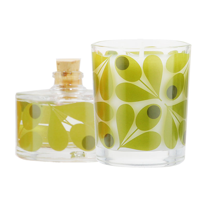 Orla Kiely Acorn Fig Mini Home Fragrance Gift