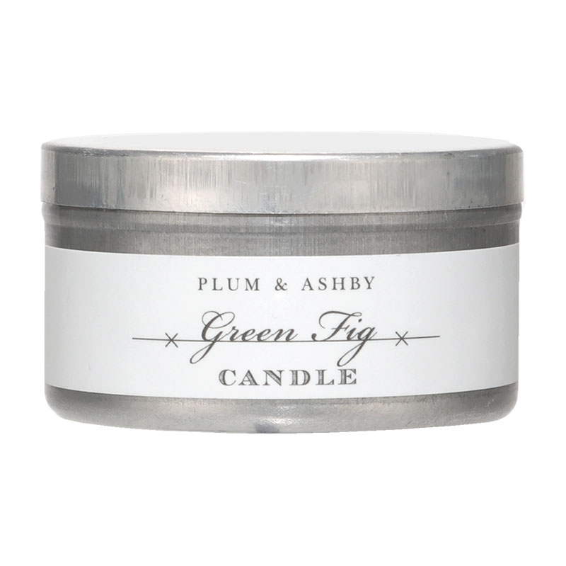 Plum and Ashby Plum & Ashby Green Fig Scented Tin Candle