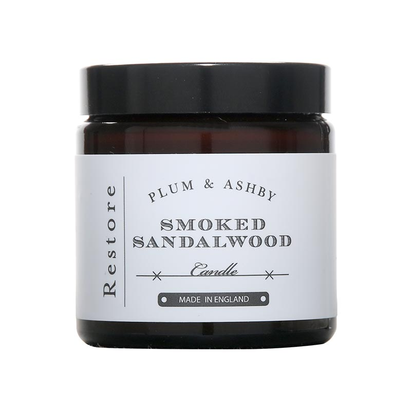 Plum and Ashby Plum & Ashby Smoked Sandalwood Travel Candle
