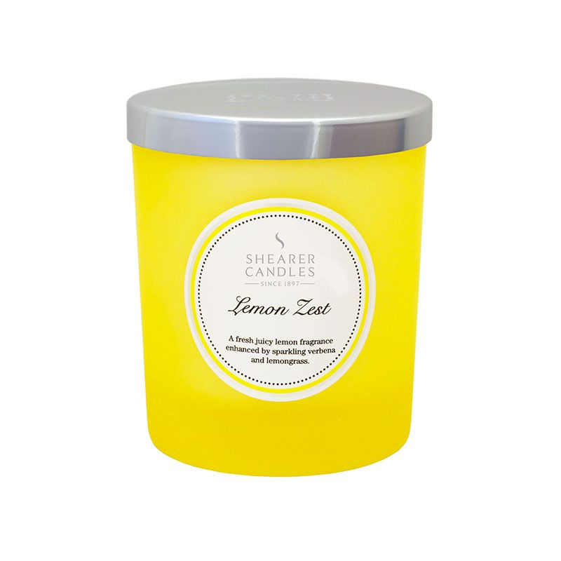 Shearer Candles Lemon Zest Small Jar Candle 444g