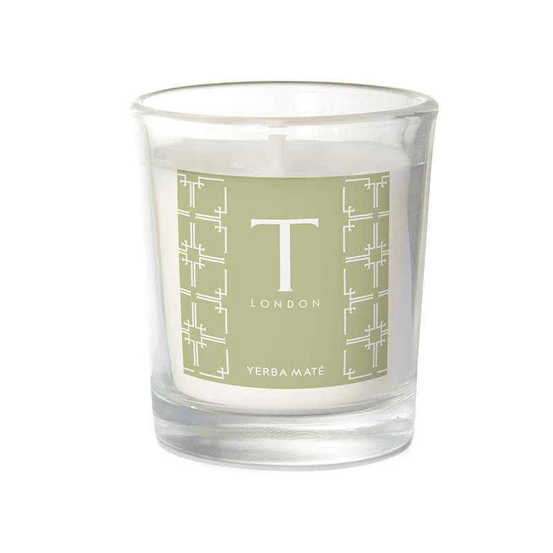 T London Yerba Mate Travel Candle 38g