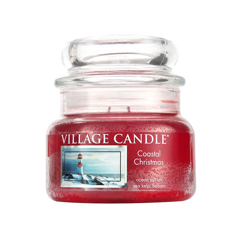 Village Candle Coastal Christmas Jar Candle 310g