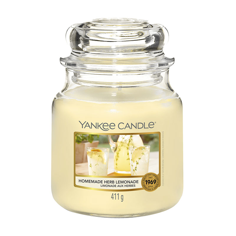 Yankee Candle Homemade Herb Lemonade Medium Candle 411g