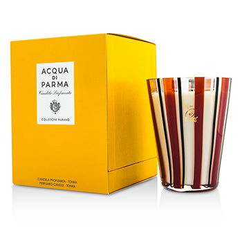 Fragrance Acqua Di Parma Murano Glass Perfumed Candle Tonka 200g/7 05oz