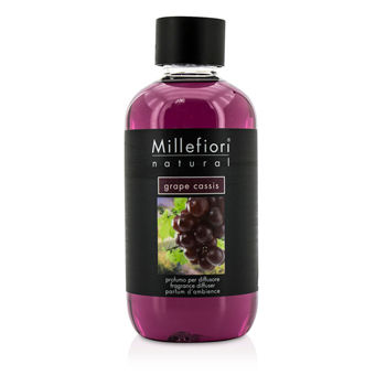 Millefiori Natural Fragrance Diffuser Refill Grape Cassis/8 45oz