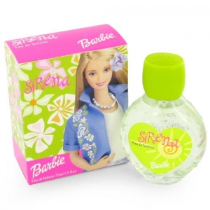 Mattel Barbie Sirena Eau de Toilette (Pink Cap Bottle)