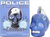 Police To Be Tattooart for Eau de Toilette