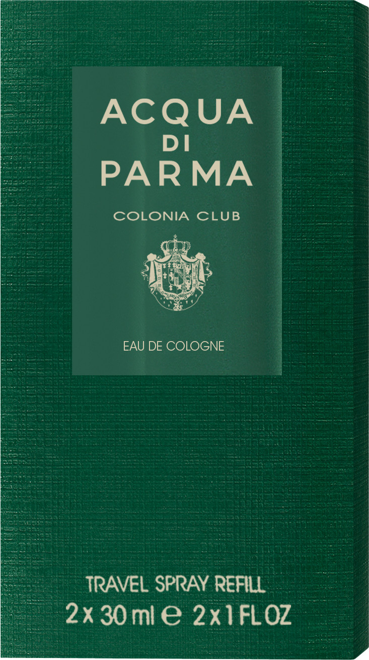 Fragrance Acqua Di Parma Colonia Club Eau de Cologne Travel Refills 2 x