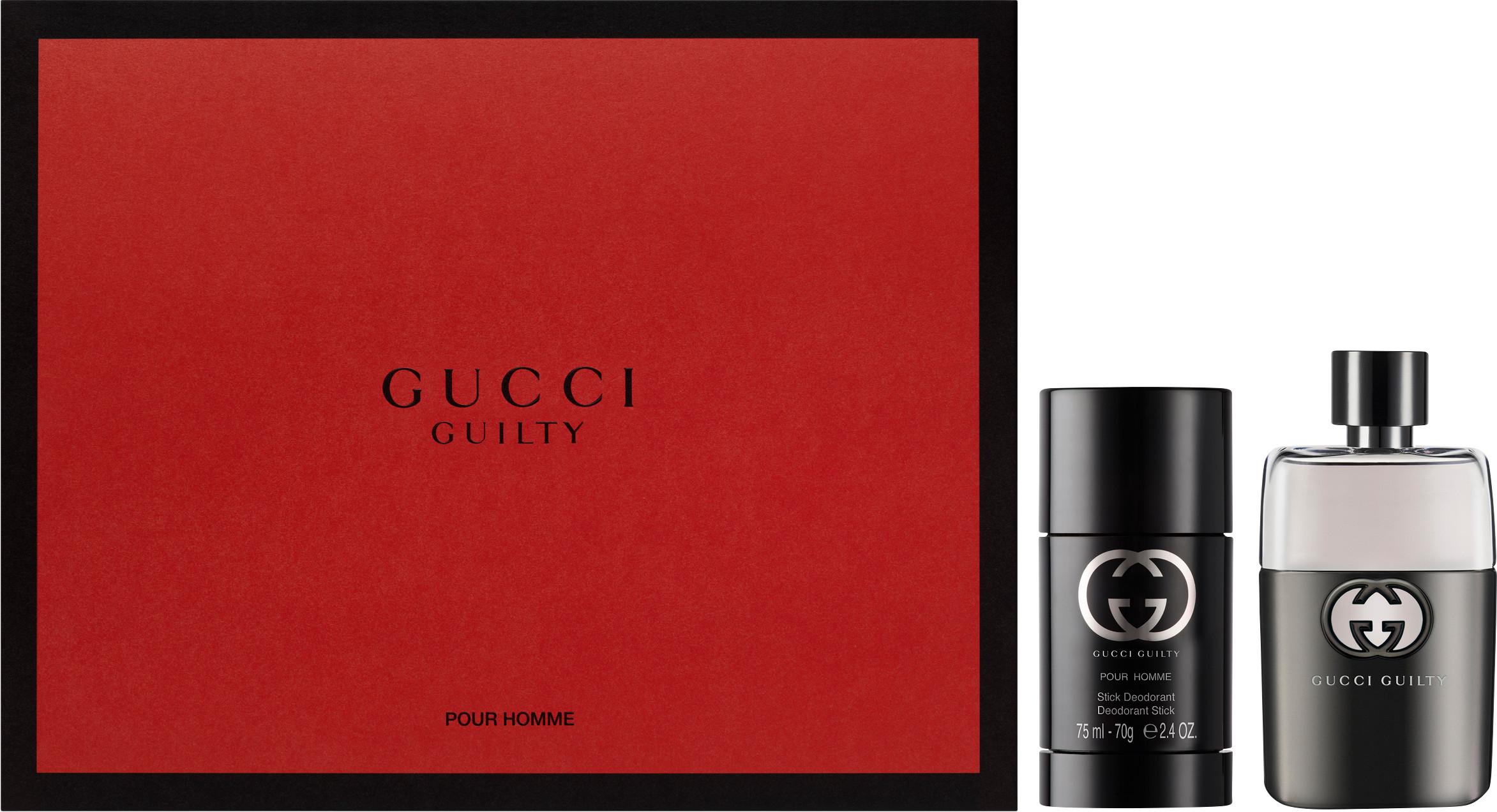 Gucci Guilty Eau De Toilette Gift Set