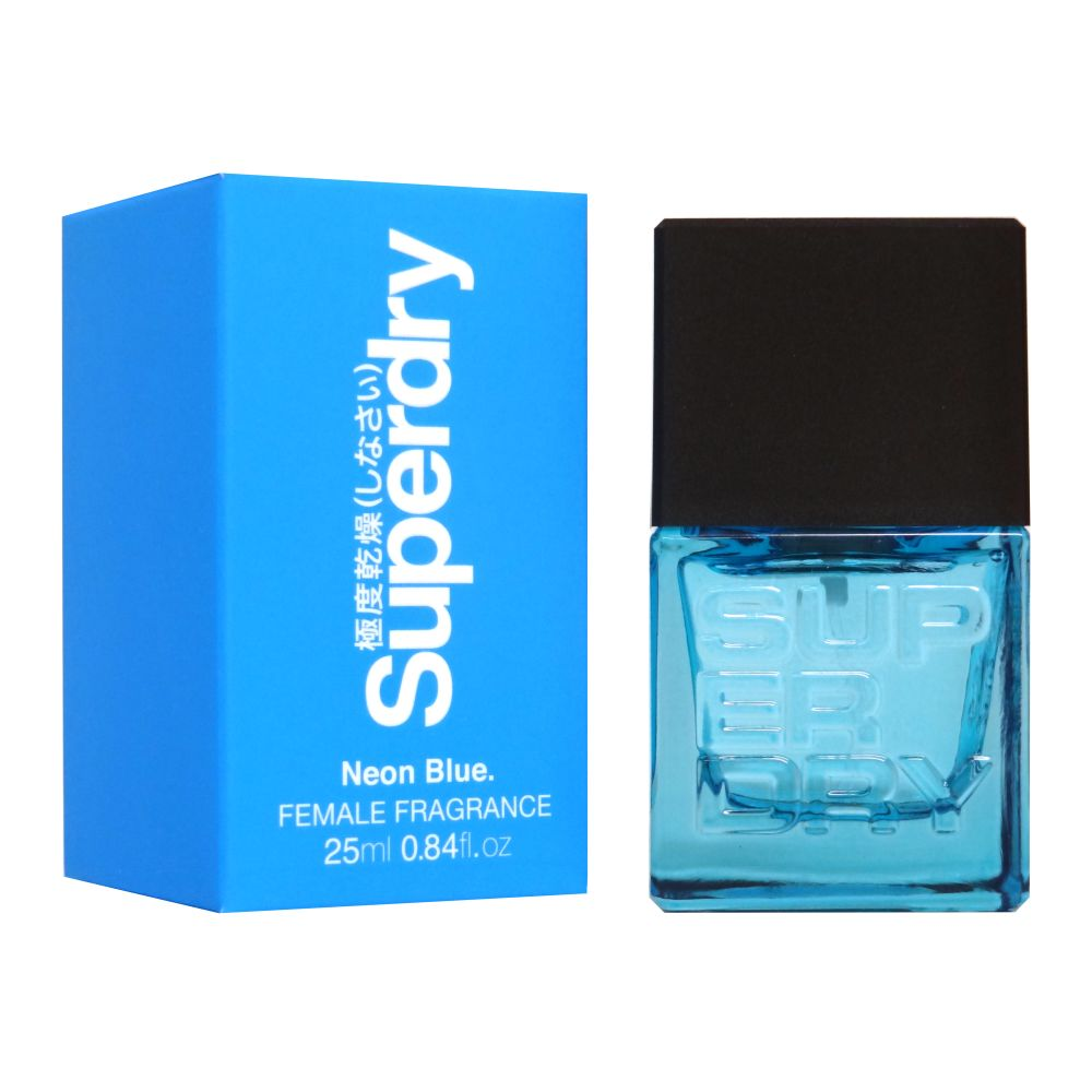 Superdry Neon Blue Cologne