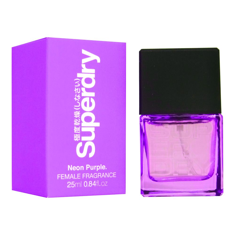 Superdry Neon Purple Cologne